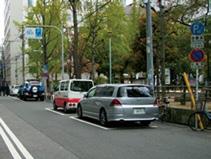 時間制限駐車区間規制の実施状況1