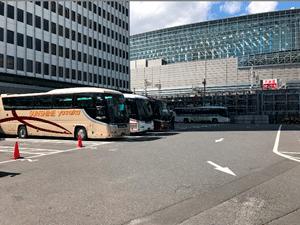 大型バス駐車スペース