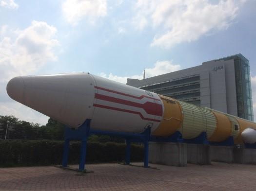 H-Ⅱロケット実機展示