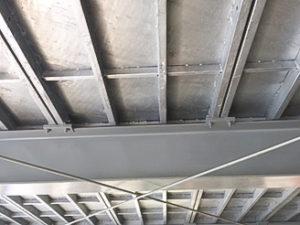 鉄板裏面(天井) ドブ漬け
