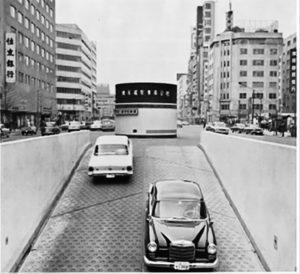 開設後間もない東京都八重洲駐車場