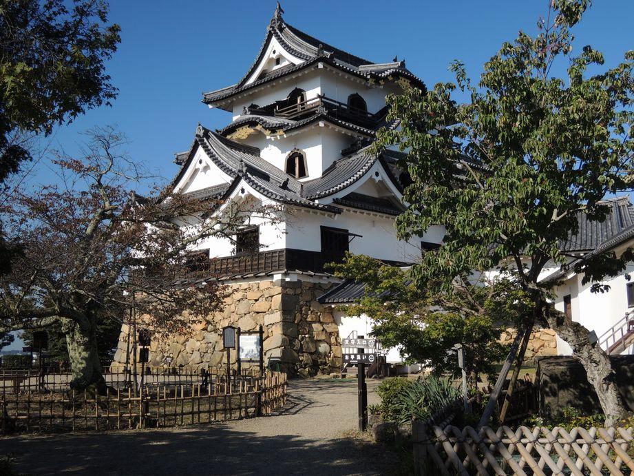 彦根城の天守