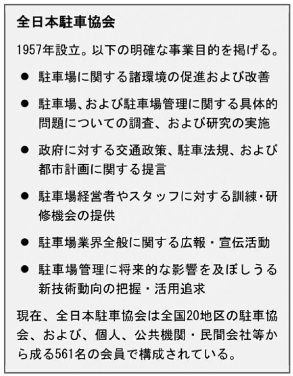 全日本駐車教会について