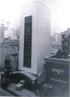 日本初の立体駐車場