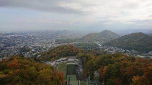 大倉山の山頂展望