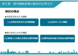 都市機能誘導の基本的な考え方