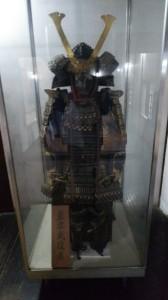 2階には武具の展示
