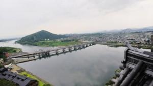 木曽川方面