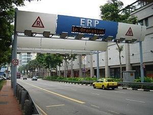 シンガポールのロードプライシング(ERP)