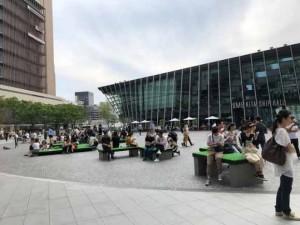 グランフロント大阪 うめきた広場