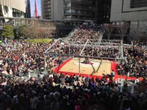 2017年に初開催した「大相撲うめきた場所」