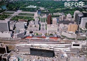 再開発前(1995年)提供:(一社)大手町・丸の内・有楽町地区まちづくり協議会