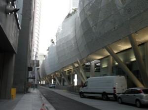 工事用仮囲いのトランスベイターミナルセンター