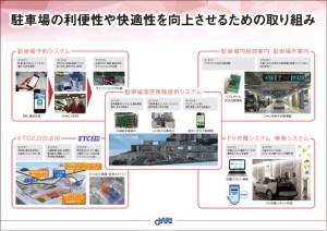 図10.駐車場に関する展示内容