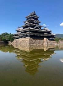 逆さ松本城